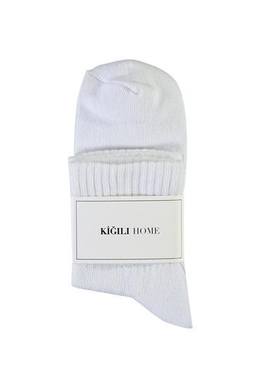 Kiğılı Çorap Beyaz